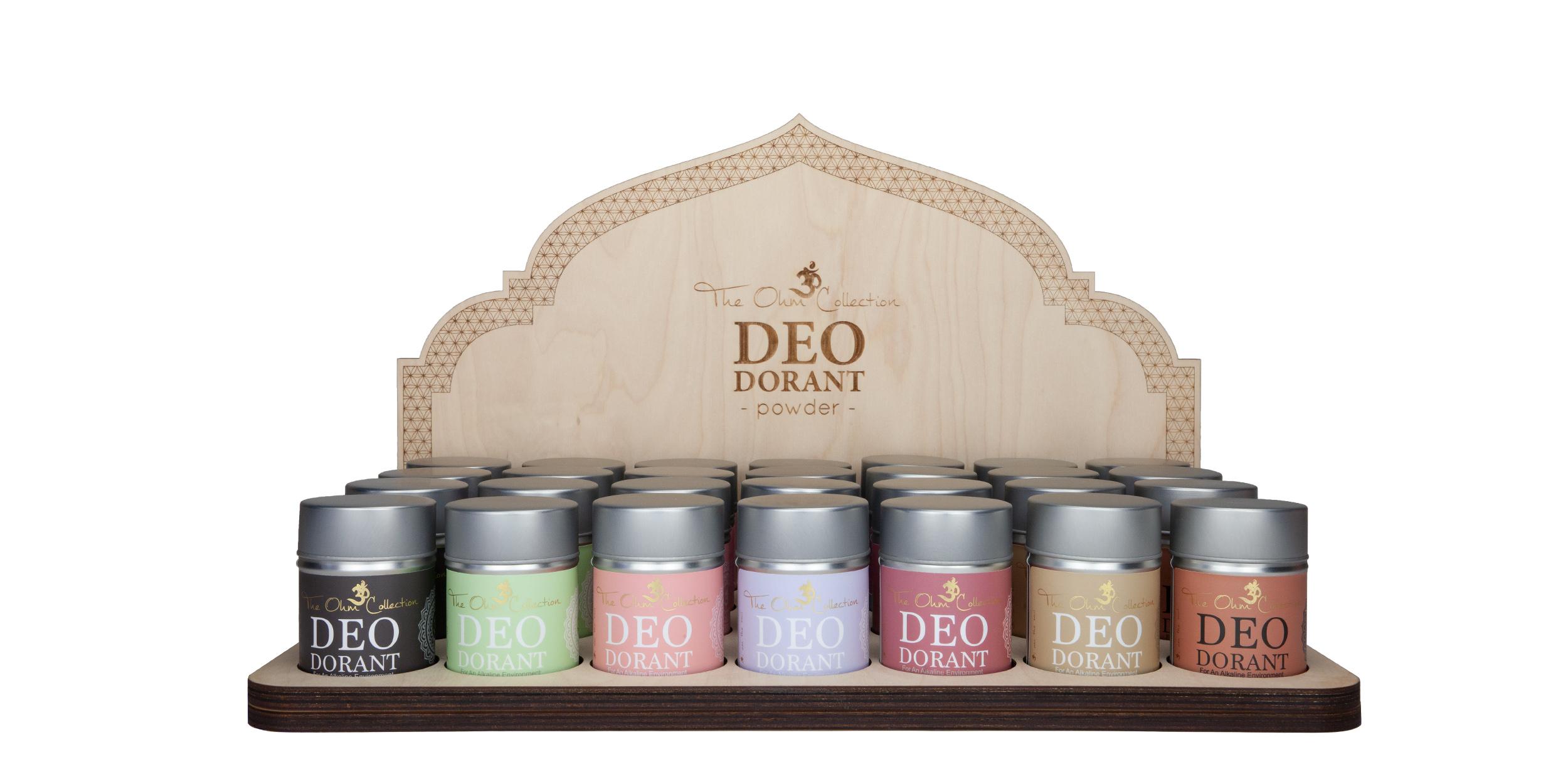 deodorant powder safe effective natural organic vegan sensitive hypoallergenic
